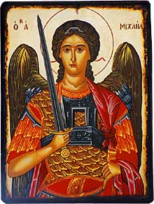 NOV 8: COMMEMORATION OF THE ARCHANGEL MICHAEL & ALL ANGELS (SOLEMN HOLY DAY)