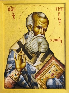 JAN 25: COMMEMORATION OF GREGORY THE THEOLOGIAN BISHOP