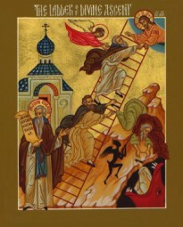 MAR 14: 4TH SUNDAY OF THE GREAT FAST - ST. JOHN CLIMACUS VENERABLE (DAYLIGHT SAVINGS TIME)