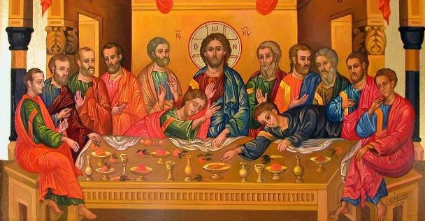 MAR 29: GREAT AND HOLY THURSDAY, MATINS, VESPERAL DIVINE LITURGY OF ST. BASIL THE GREAT & HOLY SUPPER