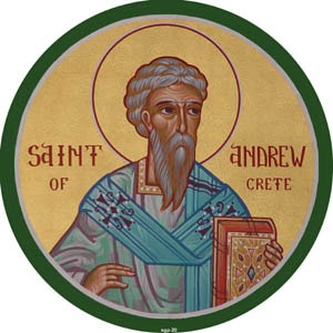 MAR 15: GREAT CANON OF ST. ANDREW OF CRETE