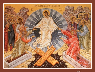 APRIL 1: PASCHA - RESURRECTION OF OUR LORD & GOD & SAVIOR JESUS CHRIST
