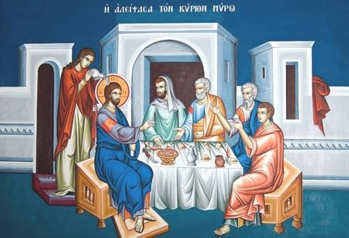 APRIL 8: GREAT AND HOLY WEDNESDAY, ANOINTING FOR HEALING & FASTING MEAL (AT HOME)