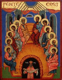 MAY 23: PENTECOST SUNDAY & PENTECOST MONDAY (FEAST OF THE HOLY TRINITY (MAY 24) & BYZANTEENS VIRTUAL EVENING OUT FOR MAY