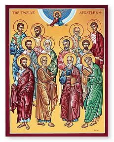 JUNE 30: SYNAXIS OF THE 12 APOSTLES