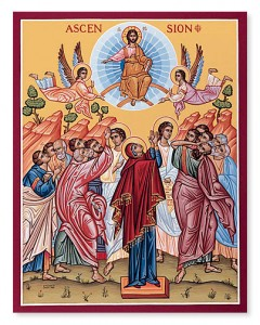 MAY 12 & 13: ASCENSION OF OUR LORD & SAVIOR, JESUS CHRIST (HOLY DAY OF OBLIGATION)