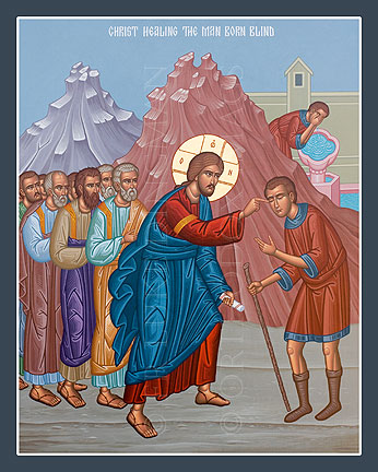 MAY 25 & 26: SUNDAY OF THE MAN BORN BLIND (SIXTH PASCHAL SUNDAY) & COMMEMORATION OF THE 3RD FINDING OF THE HEAD OF JOHN THE BAPTIST (MAY 25)