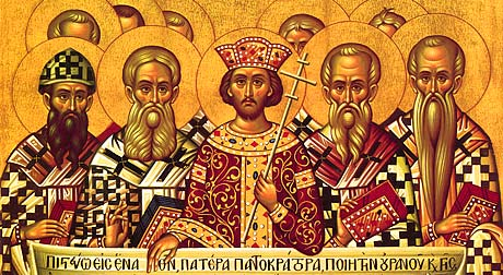 MAY 16: SUNDAY OF THE FATHERS OF THE 1ST ECUMENICAL COUNCIL