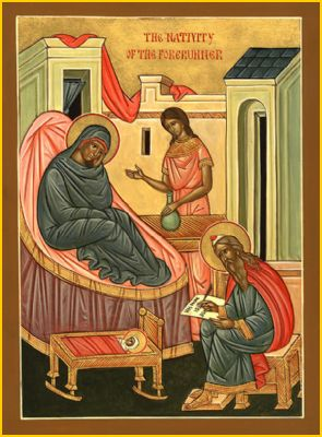 JUNE 23 & 24: 5TH SUNDAY AFTER PENTECOST & BIRTH OF JOHN THE BAPTIST