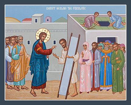 MAY 6 & 7: SUNDAY OF THE PARALYTIC MAN (4TH PASCHAL SUNDAY) & COMMEMORATION OF ST. JOHN, APOSTLE & EVANGELIST
