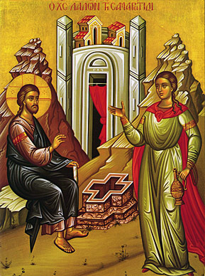 APRIL 28, 29 & 30, MAY 1 & 2: SUNDAY OF THE SAMARITAN WOMEN (5TH PASCHAL SUNDAY) & COMMEMORATION OF ST. JAMES - THE GREATER APOSTLE (APRIL 30TH)