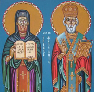 MAY 10 & 11: FEAST OF STS. CYRIL & METHODIUS (MAY 11) & COMMEMORATION OF SIMON THE ZEALOT APOSTLE (MAY 10)