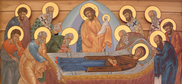 AUG 14: DORMITION OF THE THEOTOKOS & BLESSING OF FLOWERS (HOLY DAY OF OBLIGATION)