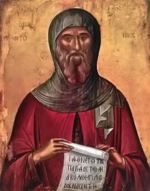 JULY 10: COMMEMORATION OF ANTHONY OF THE CAVES VENERABLE