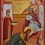 AUG 28 & 29: FEAST OF THE BEHEADING OF JOHN THE BAPTIST (SIMPLE HOLY DAY)