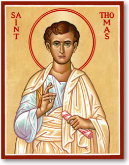 OCT 6, 7, 9 & 11: COMMEMORATION OF ST. THOMAS - APOSTLE (OCT 6), 20TH SUNDAY AFTER PENTECOST & COMMEMORATION OF JAMES ALPHEUS APOSTLE (OCT 9)