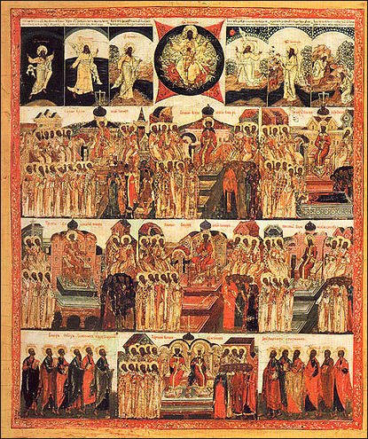 JULY 15 & 16: SUNDAY OF THE FATHERS OF THE 1ST SIX ECUMENICAL COUNCILS (6TH SUNDAY AFTER PENTECOST) & COMMEMORATION OF VLADIMIR THE GREAT EQUAL TO THE APOSTLES