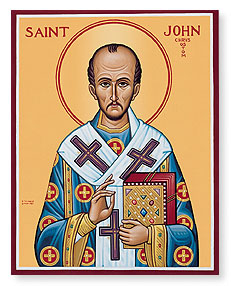 NOV 13: COMMEMORATION OF ST. JOHN CHRYSOSTOM ARCHBISHOP