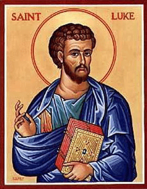 OCT 18: 20TH SUNDAY AFTER PENTECOST & COMMEMORATION OF LUKE, APOSTLE - EVANGELIST