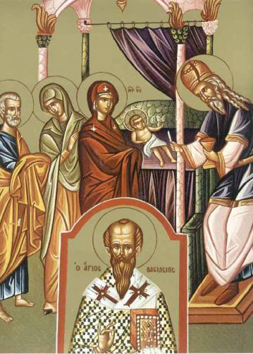 JAN 1: CIRCUMCISION OF OUR LORD, FEAST OF ST. BASIL THE GREAT & NEW YEAR'S DAY