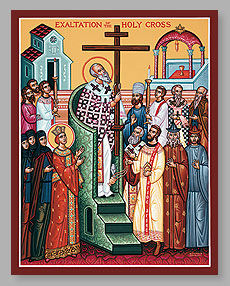 SEPT 13: SUNDAY BEFORE THE EXALTATION OF THE HOLY CROSS & 15TH SUNDAY AFTER PENTECOST