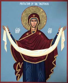 SEPT 28, 29 & OCT 2: 16TH SUNDAY AFTER PENTECOST & FEAST OF THE PROTECTION OF THE THEOTOKOS (OCT 1ST) (SOLEMN HOLY DAY)