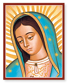DEC 12: FEAST OF THE THEOTOKOS OF GUADALUPE - PATRONESS OF THE AMERICAS
