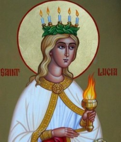 DEC 13: FEAST OF ST. LUCIA