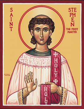 DEC 27: COMMEMORATION OF ST. STEPHEN PROTOMARTYR