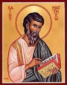 NOV 16: COMMEMORATION OF MATTHEW – APOSTLE