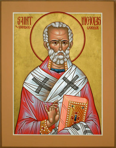 DEC 5 & 6: FEAST OF ST. NICHOLAS OF MYRA ARCHBISHOP