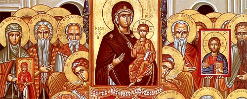 MAR 1, 4 & 6: 1ST SUNDAY OF THE GREAT FAST - SUNDAY OF ORTHODOXY & COMMEMORATION OF THE 42 MARTYRS OF AMMORIUM (MAR 6)