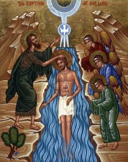 JAN 4, 5, 6 & 8: SYNAXIS OF 70 HOLY APOSTLES (JAN 4); THEOPHANY OF OUR LORD, GOD, & SAVIOR, JESUS CHRIST & SYNAXIS OF ST. JOHN THE BAPTIST (JAN 7TH)