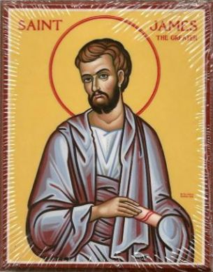APRIL 29: COMMEMORATION OF ST. JAMES THE GREATER APOSTLE (APR 30)