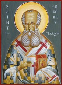 JAN 25: COMMEMORATION OF GREGORY THE THEOLOGIAN - BISHOP