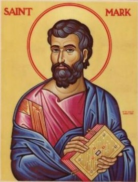 APRIL 25: COMMEMORATION OF ST. MARK APOSTLE - EVANGELIST