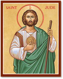 JUNE 19: COMMEMORATION OF ST. JUDE APOSTLE