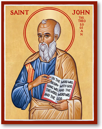 SEPT 25: COMMEMORATION OF THE PASSING OF JOHN APOSTLE - EVANGELIST (SEPT 26TH)