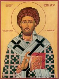 NOV 19: COMMEMORATION OF ST. BONIFACE, MARTYR - DIVINE LITURGY