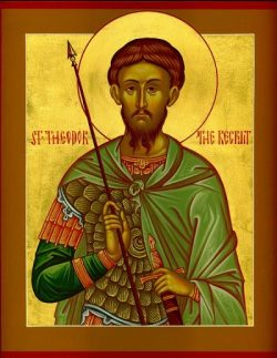 FEB 20: COMMEMORATION OF THE MIRACLE OF THE GREAT-MARTYR THEODORE