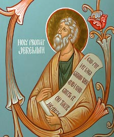 MAY 1: COMMEMORATION OF JEREMIAH PROPHET – DIVINE LITURGY