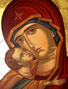 "AUG 12: PARAKLESIS or ""Office of Supplicatory Canon to the Most Holy Theotokos"""