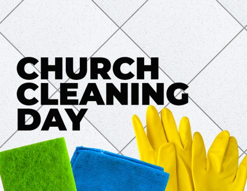 SEPT 26: HALL & CHURCH CLEAN-UP DAY