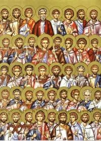 MAR 6: COMMEMORATION OF THE 42 MARTYRS OF AMMORIUM